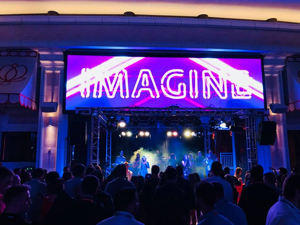 Liquid Blue has Performed in Las Vegas