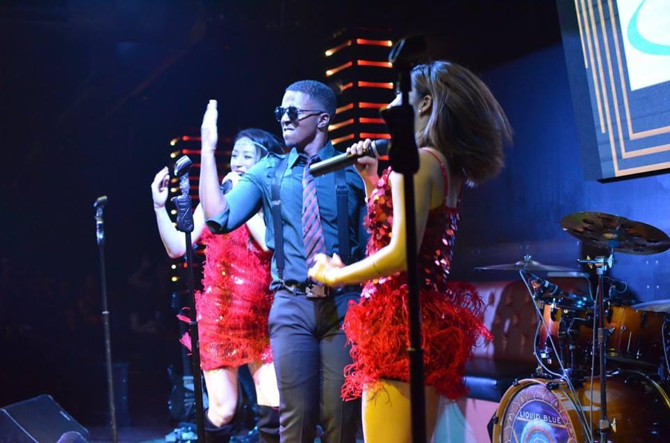 Liquid Blue in Los Angeles CA at Sevilla Nightclub (5)