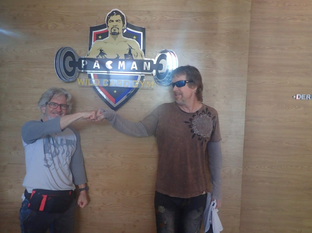 2016-07-13 Scott and Grovler Pacman Sign General Santos City Philippines