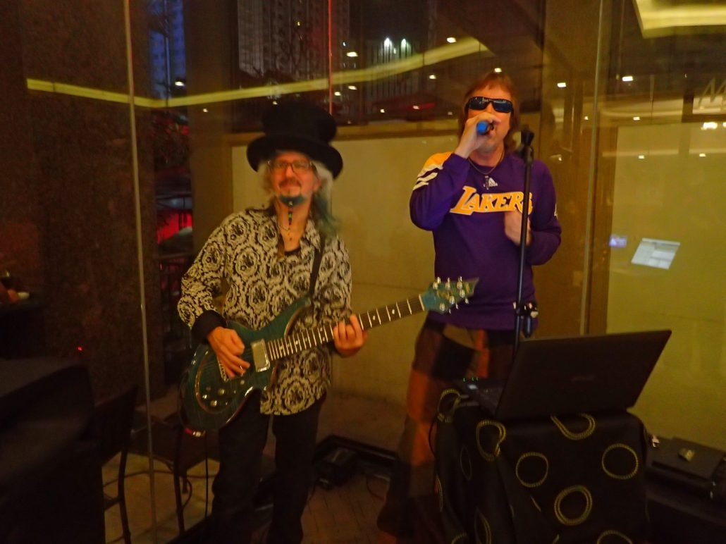 2016-07-26 Two From Blue in Cebu City Philippines at MJ Hotel 001