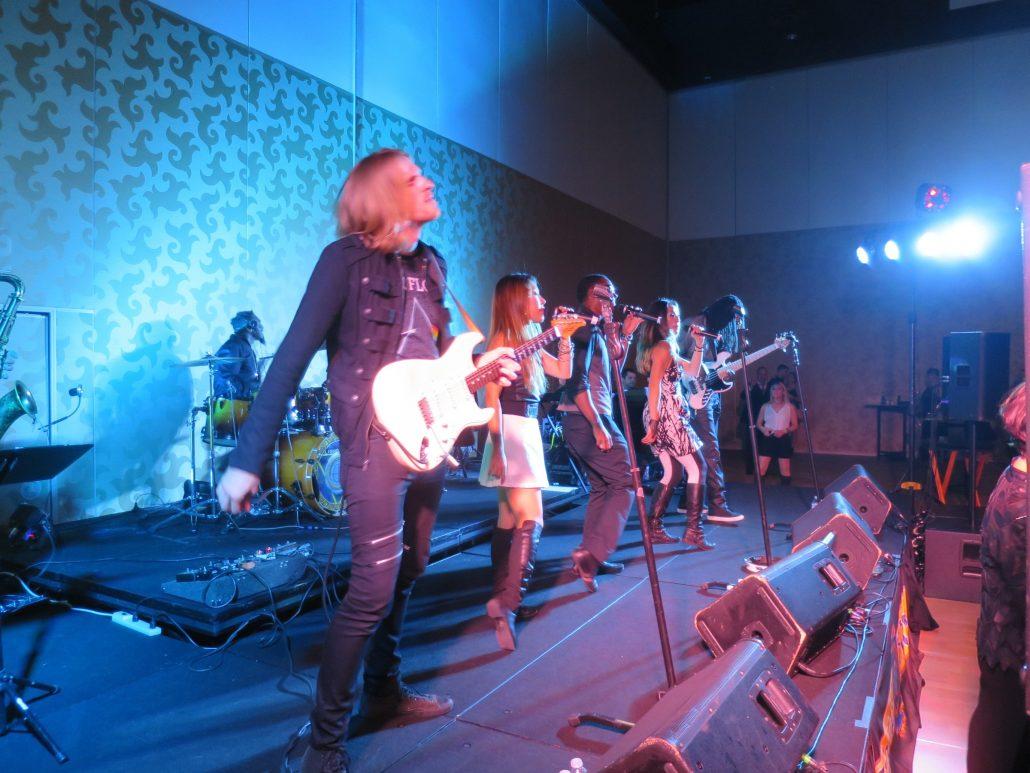 2016-10-21 Liquid Blue Band in San Diego CA at Hilton Bayfront (3)