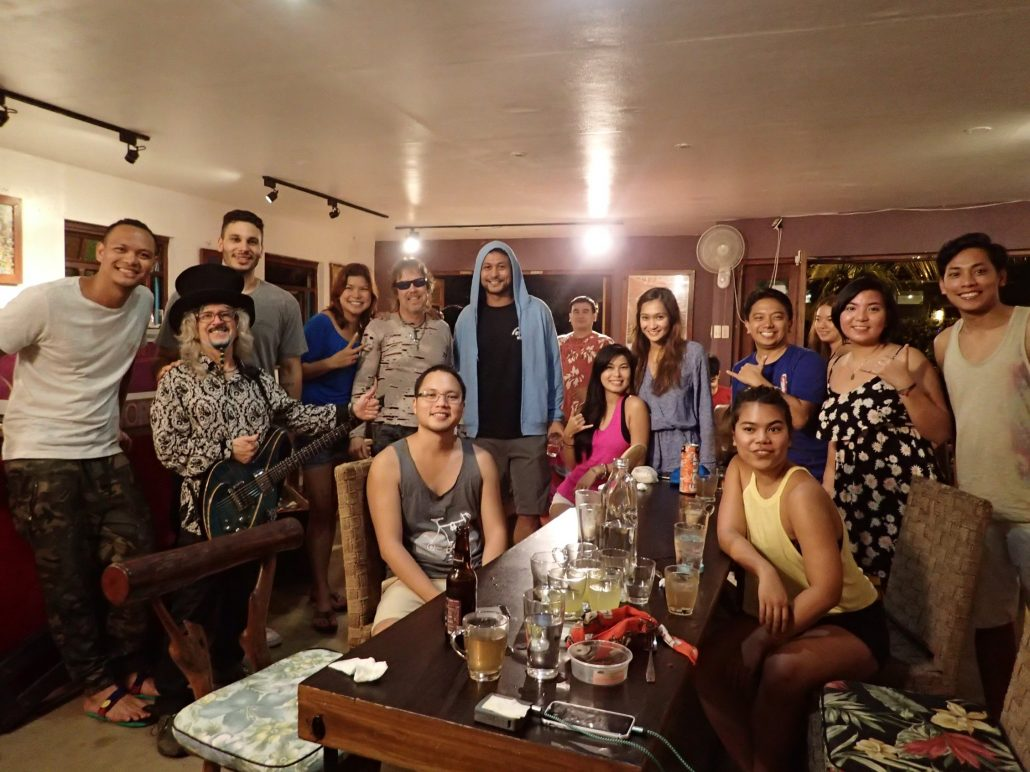 2016-11-26 Two From Blue in Baler Philippines at Charlie Does Cafe (1)