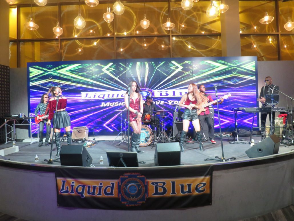 2016-12-02 Liquid Blue Band in Jamul CA at Hollywood Casino (1)