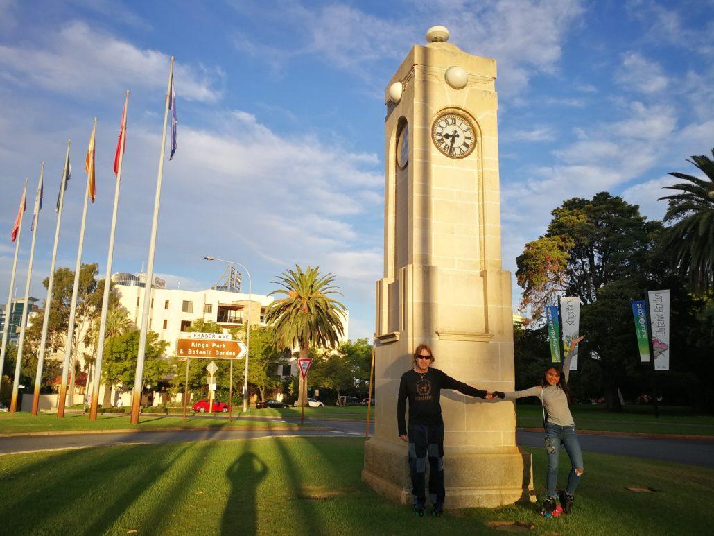 2018-04-01 Selina Perth Australia at Kings Park (2)