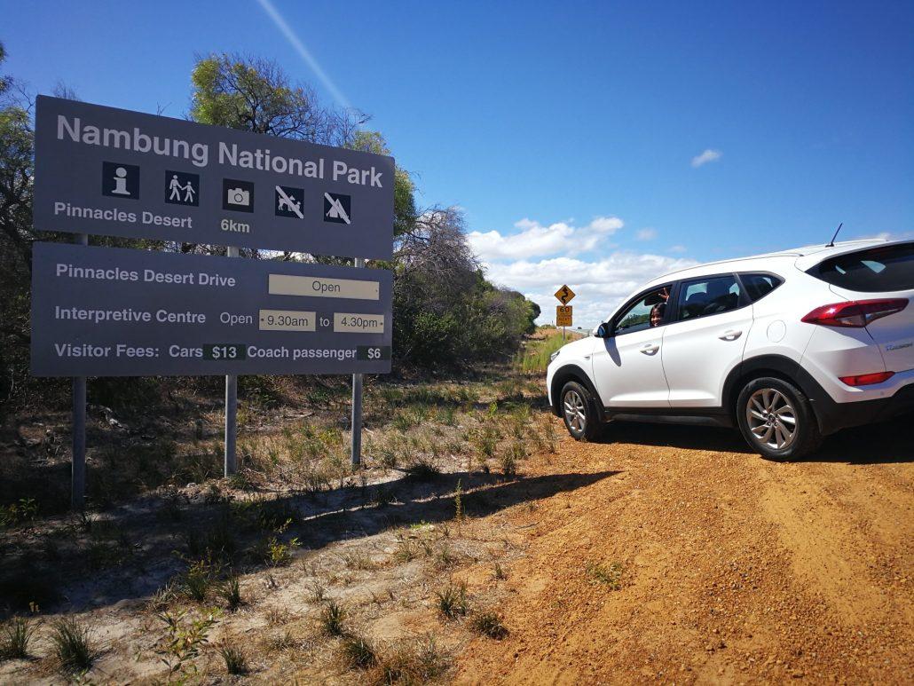 2018-04-08 Selina Nambung National Park Australia at Pinnacles Desert (1)
