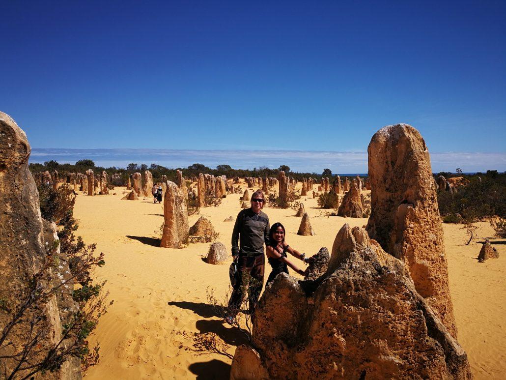 2018-04-08 Selina Nambung National Park Australia at Pinnacles Desert (27)