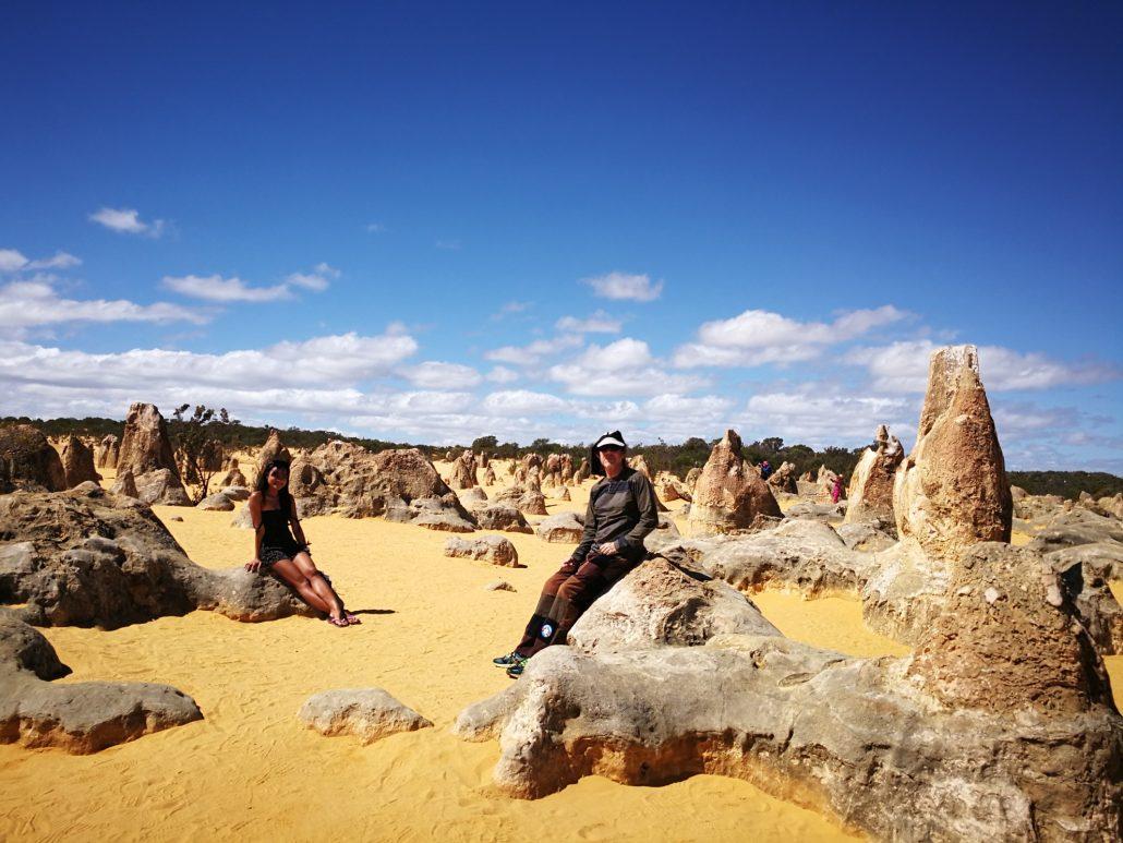 2018-04-08 Selina Nambung National Park Australia at Pinnacles Desert (3)