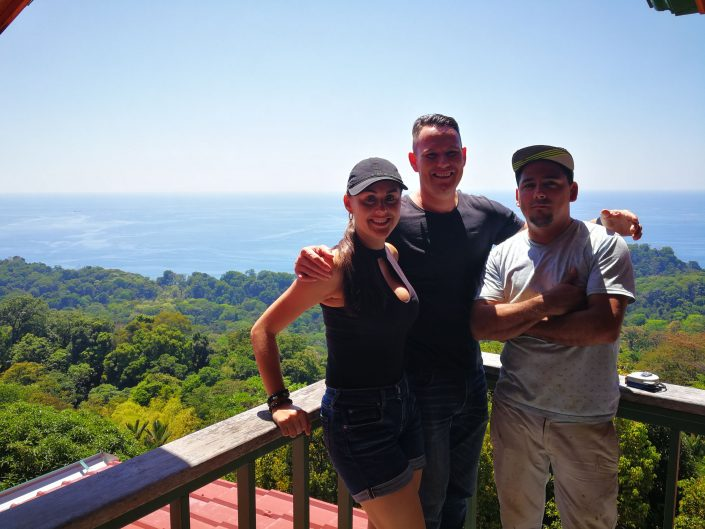 2019-02-07 Didier Yuri and Gustavo at Casa Vista Uvita Costa Rica (1)