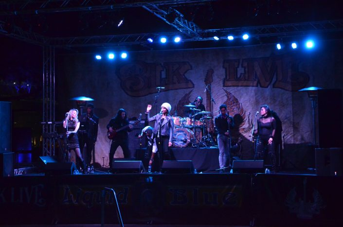 2019-02-09 Liquid Blue Band in Scottsdale AZ at BLK Live (3)
