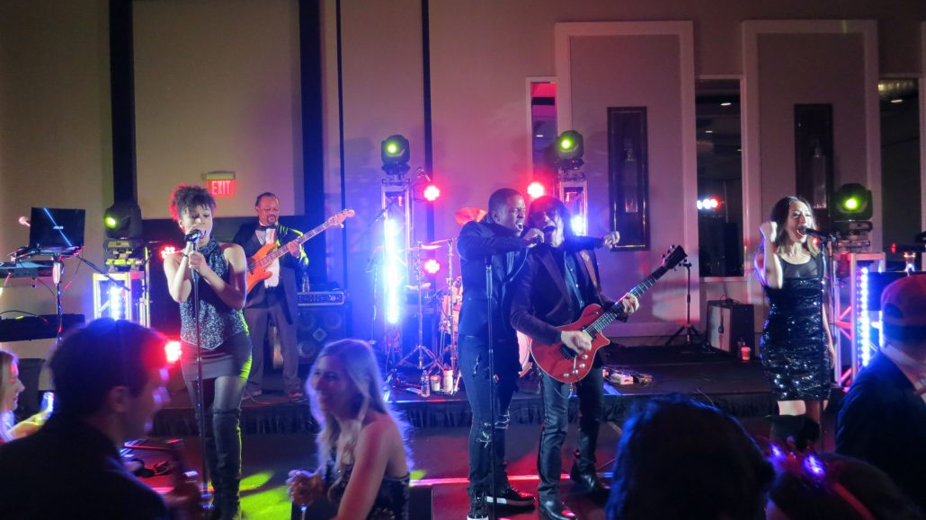 2019-02-15 Liquid Blue Band in New Orleans LA at Hyatt Regency (10)