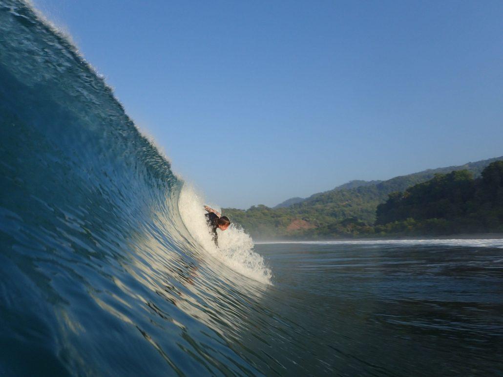2019-02-21 Scott Bodysurfing Playa Hermosa Costa Rica (1)