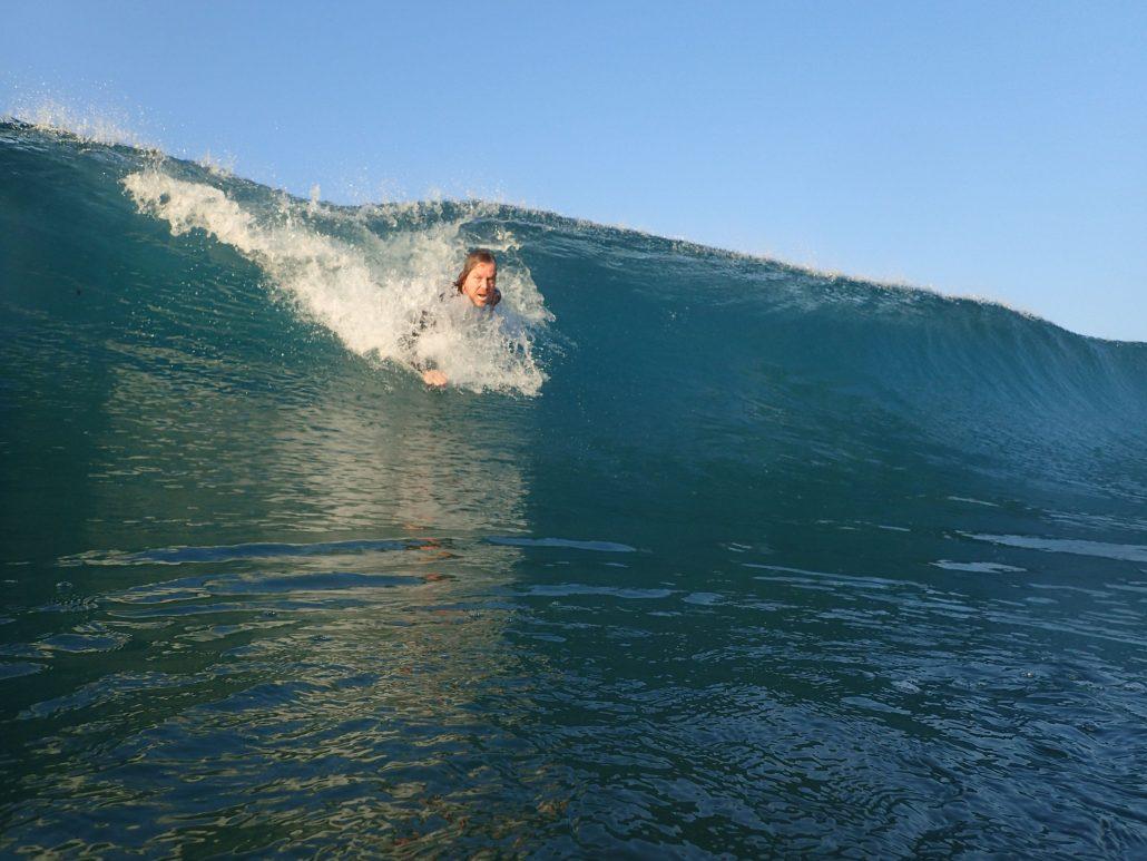 2019-02-21 Scott Bodysurfing Playa Hermosa Costa Rica (2)