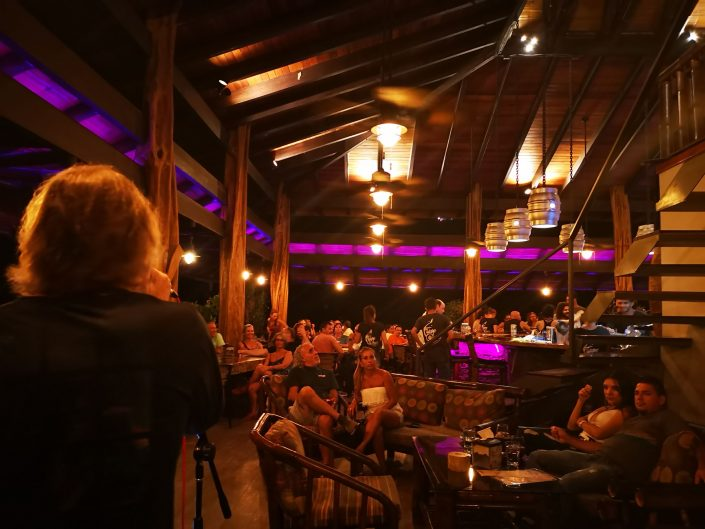2019-02-22 Out Of The Blue Band at Fuego Brew Co Dominical Costa Rica (8)