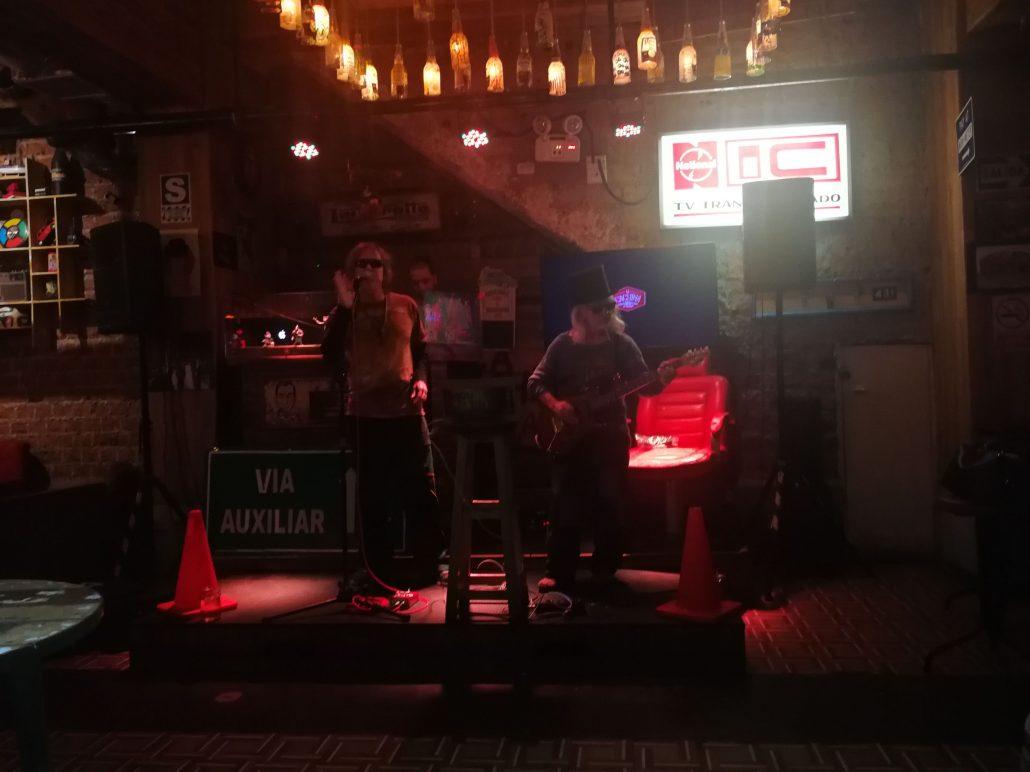 2019-03-05 Out of the Blue at La Cachina Bar Miraflores Lima Peru (5)