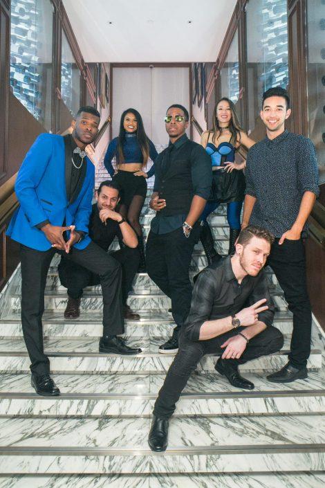2019-03-09 Liquid Blue Band in Hong Kong China (4)