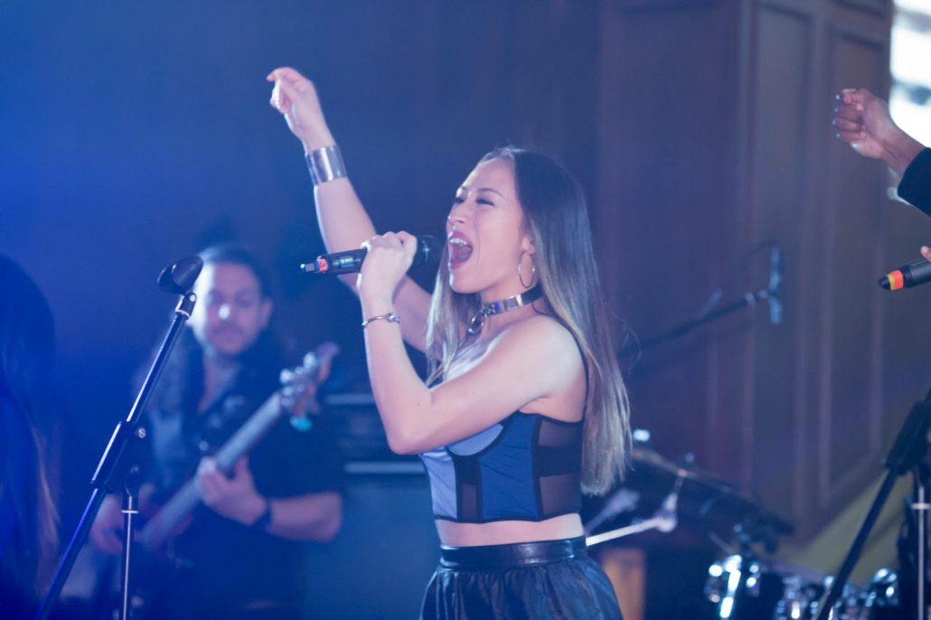 2019-03-09 Liquid Blue Band in Hong Kong China at The American Club Hong Kong (14)