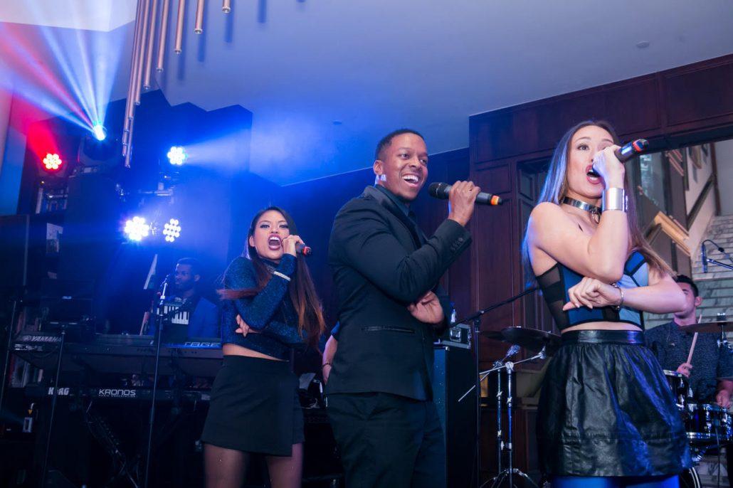 2019-03-09 Liquid Blue Band in Hong Kong China at The American Club Hong Kong (5)