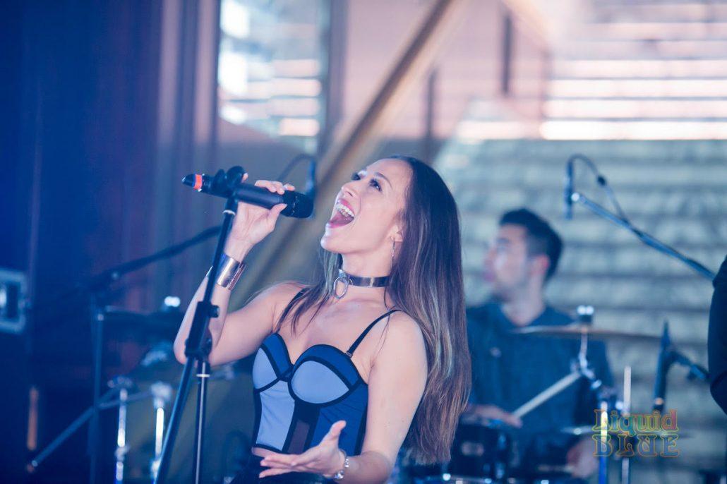 2019-03-09 Liquid Blue Band in Hong Kong China at The American Club Hong Kong (17)