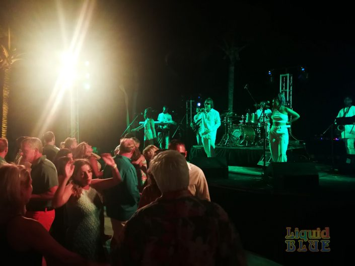 2019-04-26 Liquid Blue Band in Cap Cana Dominican Republic at Secrets Resort PSM (14)