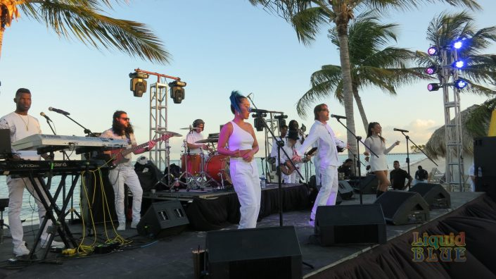 2019-04-26 Liquid Blue Band in Cap Cana Dominican Republic at Secrets Resort SCM (38)