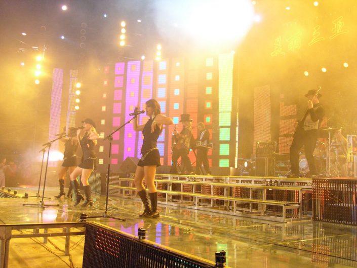 2007-02-17 Sanya China, Broadcast Live on CCTV