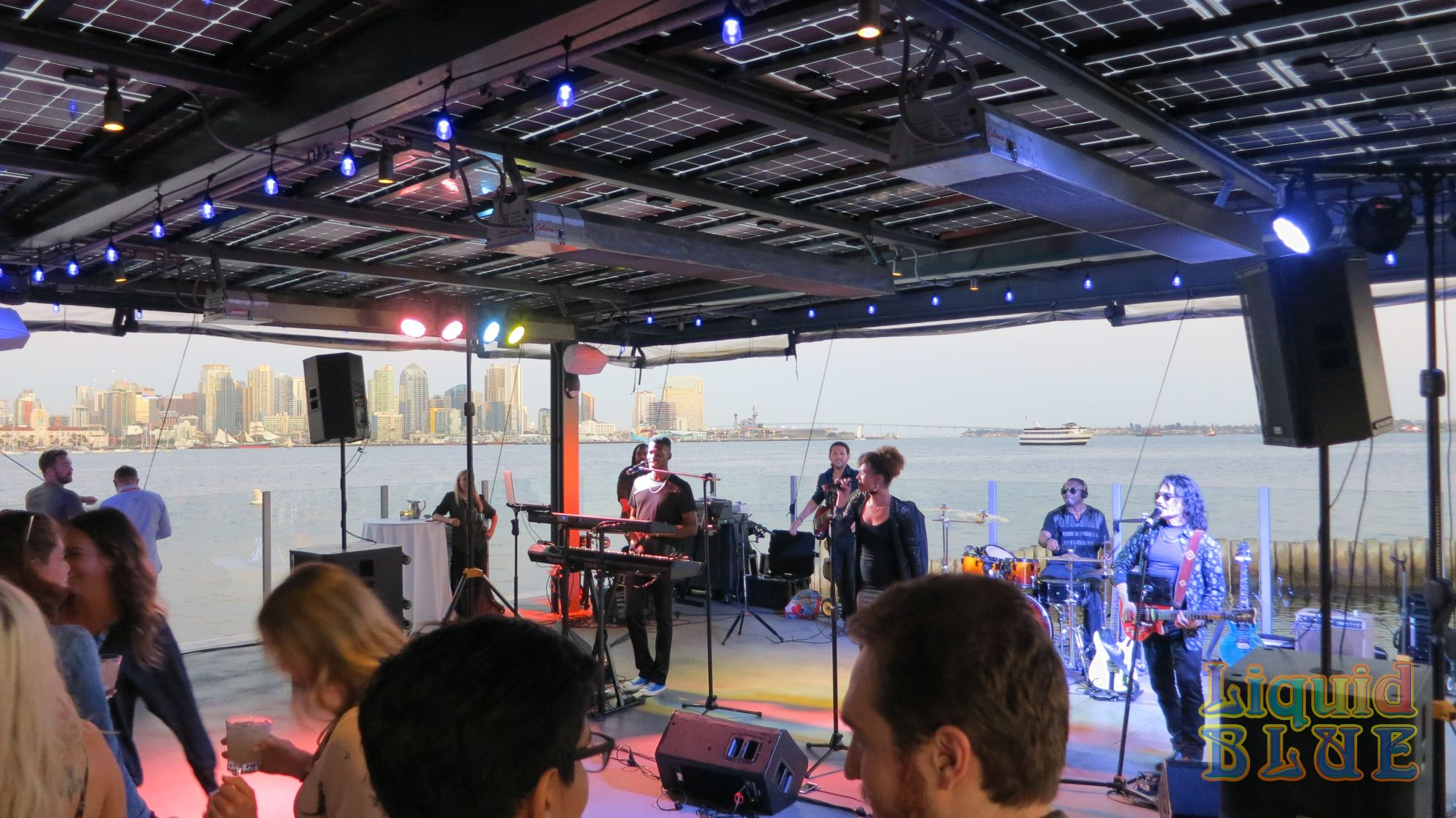 Liquid Blue Cover Band & Wedding Music Band for Events