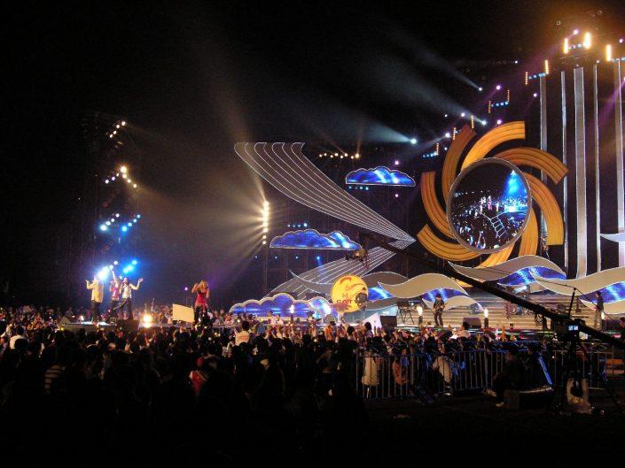 2007-12-28 Haikou China, Hainan University Stadium 38,000