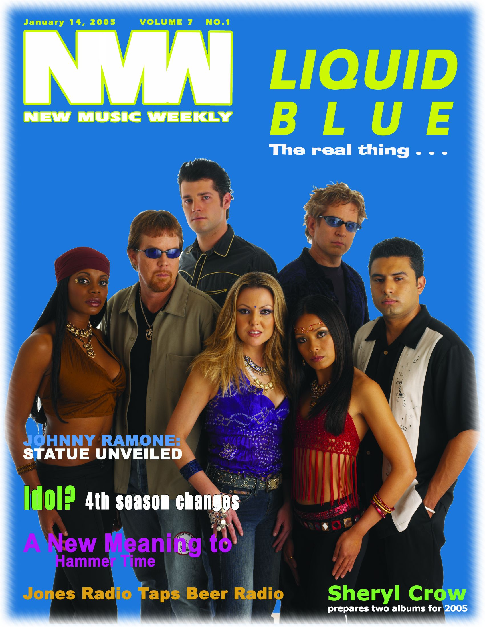 New Music Weekly Cover Jan 2005