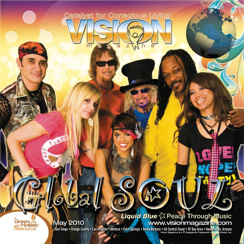 Vision Magazine Cover May 2010